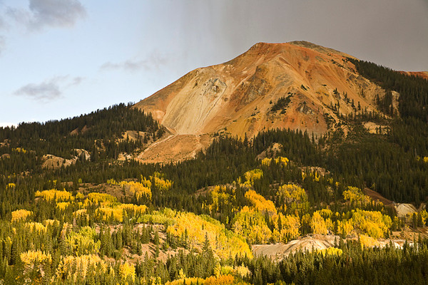 Changing Weather Over Aspens & Old Mine