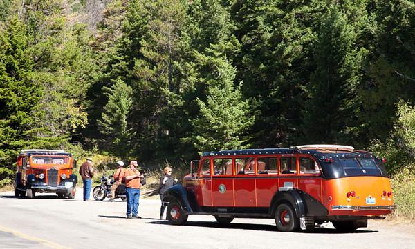 Park Service Tour Buses