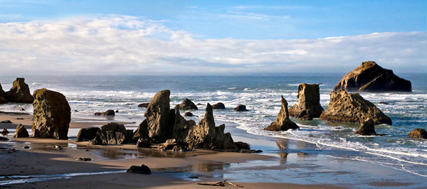 Face Rock Panorama