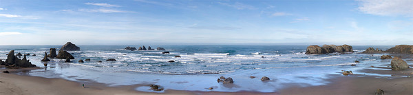 Bandon Panorama (9 photos combined)