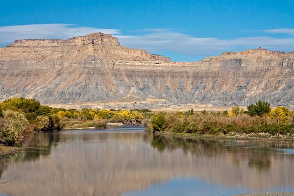 Book Cliffs Above Green River