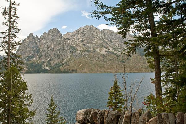 Teton Range at Jenny Lake I