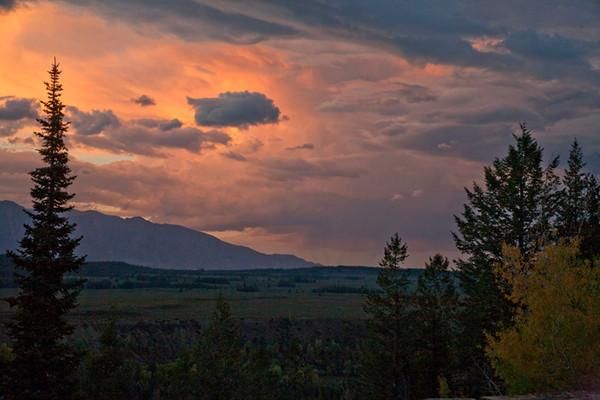 Teton Sunset II