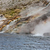 Steamy Water Meets Firehole River