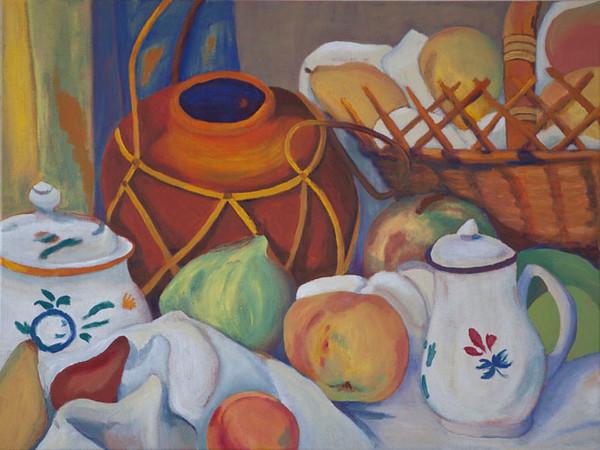 Cezanne's Kitchen I