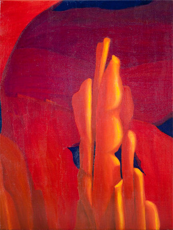 Arches & Columns II (acrylics)