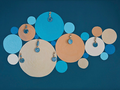 Circularity In Blue & Beige