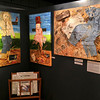 """The Secret Desires of Scarecrows"" shown at Riverfront Art Gallery, Petaluma, CA"