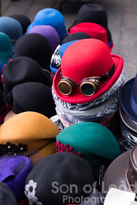 Hats of all colours