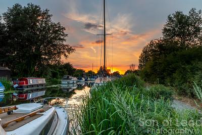 Heybridge Basin Sunset