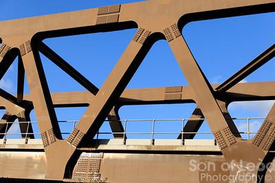 Iron Railway Bridge - East London