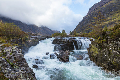 Clachaig Falls - Glencoe