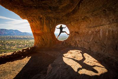 Robber's Roost, near Sedona Arizona, photography by Tony Marinella