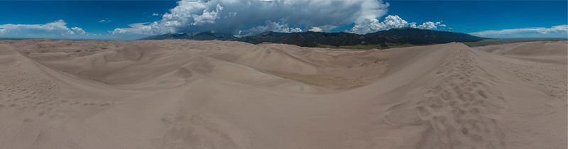360 Pano from atop of the Dunes