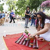 About 750 people gathered in the Plaza for a Memorial on Monday, June 13, 2016, for the victims of the Orlando shooting. Luis Sánchez Saturno/The New Mexican