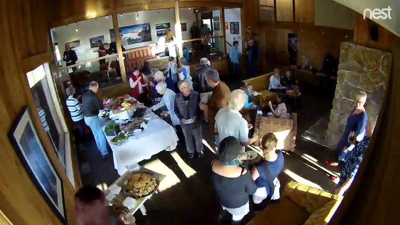 Farewell Reception at The Sea Ranch Lodge on October 25, 2018