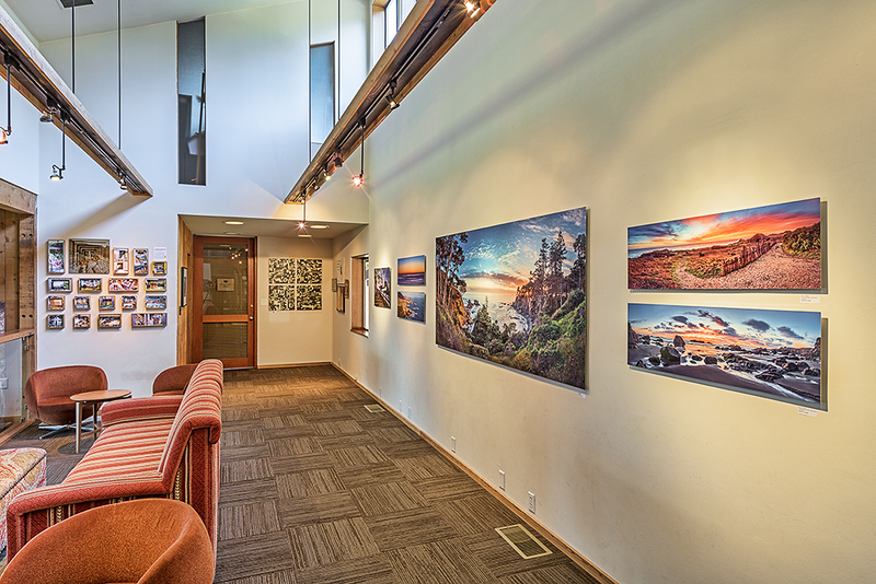 Sea Ranch Lodge display.