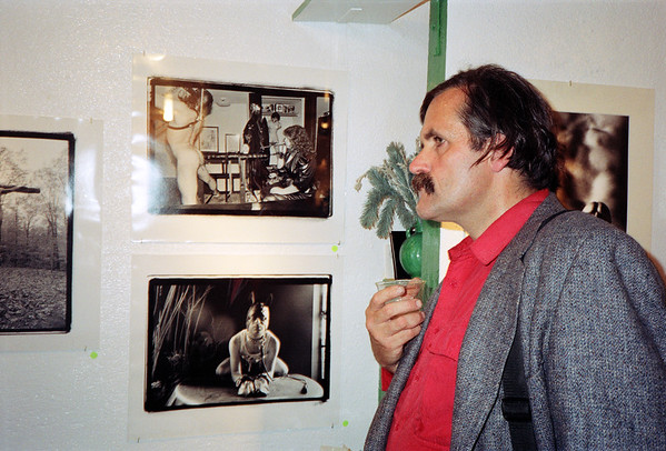 14th Annual Rated X Group Exhibition Reception at Neikrug Photographica Ltd., NYC, 1989 - 21 of 37