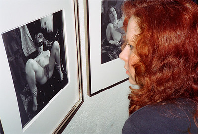 14th Annual Rated X Group Exhibition Reception at Neikrug Photographica Ltd., NYC, 1989 - 23 of 37