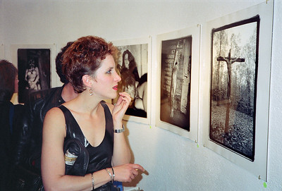 14th Annual Rated X Group Exhibition Reception at Neikrug Photographica Ltd., NYC, 1989 - 12 of 37