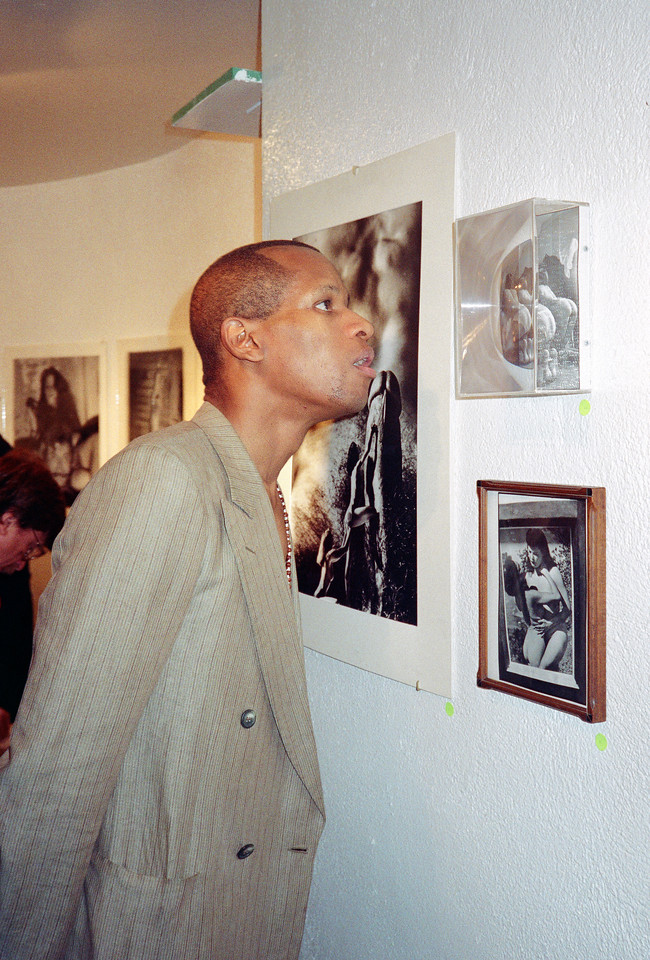 14th Annual Rated X Group Exhibition Reception at Neikrug Photographica Ltd., NYC, 1989 - 10 of 37