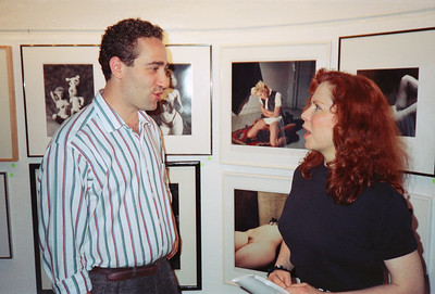 14th Annual Rated X Group Exhibition Reception at Neikrug Photographica Ltd., NYC, 1989 - 27 of 37