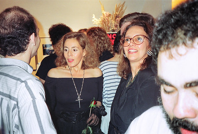 14th Annual Rated X Group Exhibition Reception at Neikrug Photographica Ltd., NYC, 1989 - 11 of 37