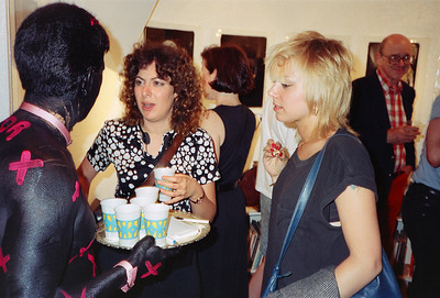 14th Annual Rated X Group Exhibition Reception at Neikrug Photographica Ltd., NYC, 1989 - 33 of 37