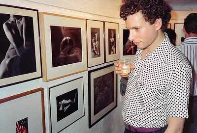 14th Annual Rated X Group Exhibition Reception at Neikrug Photographica Ltd., NYC, 1989 - 24 of 37
