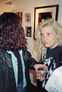 14th Annual Rated X Group Exhibition Reception at Neikrug Photographica Ltd., NYC, 1989 - 19 of 37