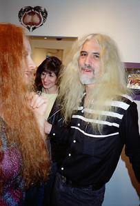 Axel & Komoda Opening  at La Luz de Jesus, Los Angeles, 1989 - 17 of 24