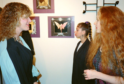 Axel & Komoda Opening at La Luz de Jesus, Los Angeles, 1989 - 2 of 24