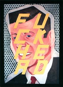 Bill Barminski Paintings Opening at La Luz de Jesus, Los Angeles, 1989 - Invite Side 1