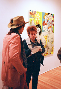 Family Life: The Postwar Years, Cockrill/Judge Hughes Opening at Semaphore, NYC, 1986 - 4 of 37