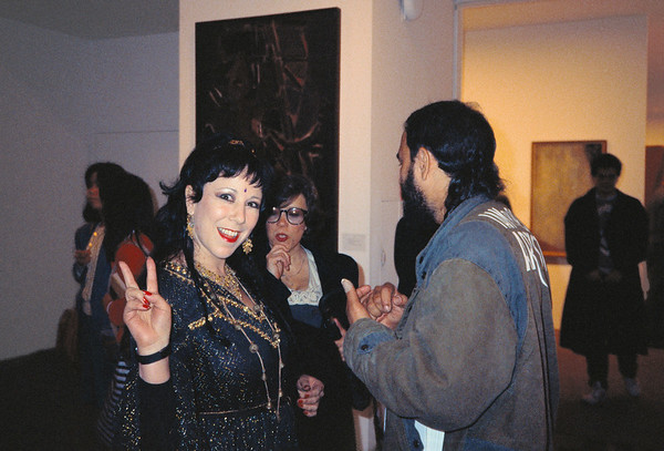 René Moncada's Vent Elation Opening at the MoMA, NYC, 1988 - 2 of 8