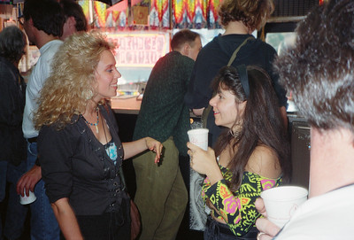 Tattoo Flash Exhibition Reception-Hoedown at Psychedelic Solution, NYC, 1991 - 7 of 25