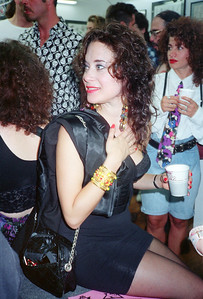 Tattoo Flash Exhibition Reception-Hoedown at Psychedelic Solution, NYC, 1991 - 24 of 25