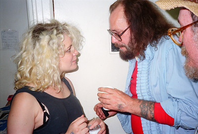 Tattoo Flash Exhibition Reception-Hoedown at Psychedelic Solution, NYC, 1991 - 15 of 25