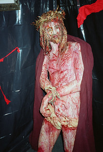 Tortures of Christian Martyrs Opening at La Luz de Jesus, Los Angeles, 1990 - 2 of 24