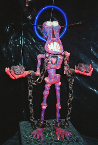 Tortures of Christian Martyrs Opening at La Luz de Jesus, Los Angeles, 1990 - 17 of 24