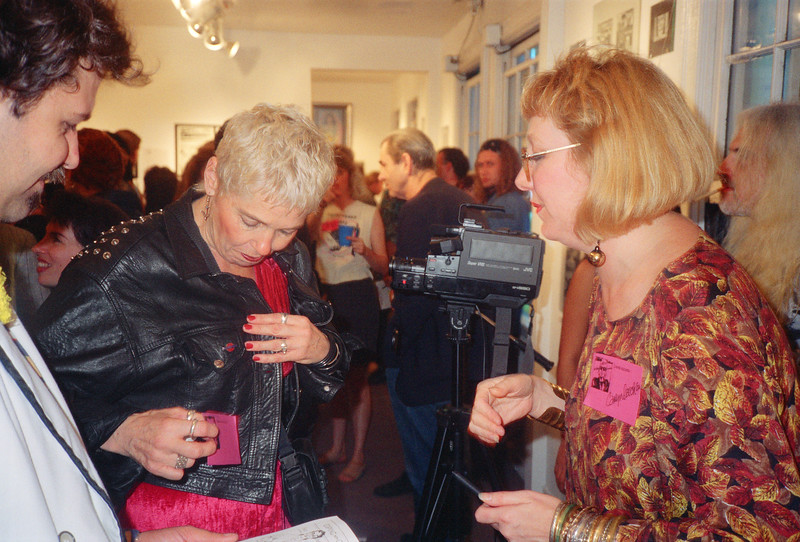 Twisted Sisters Opening at La Luz de Jesus & Canter's, Los Angeles, 1991 - 9 of 24