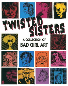 Twisted Sisters Opening at La Luz de Jesus, Los Angeles, 1991 - Invite Side 1
