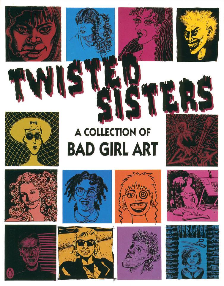 Twisted Sisters Opening at La Luz de Jesus, Los Angeles, 1991 - Invite Side 1
