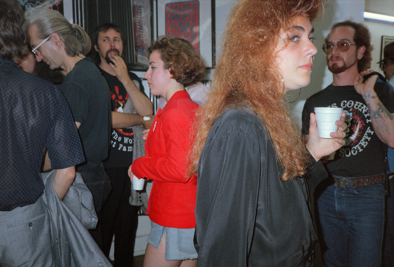 Zap Comix #12 Celebration at Psychedelic Solution, NYC, 1989 - 5 of 18