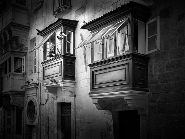Valletta city life