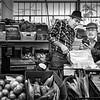 At the market ....