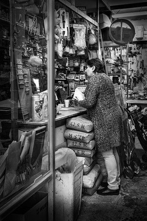 Vanishing shops in Valletta