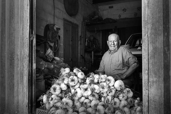 The spring onion vendor