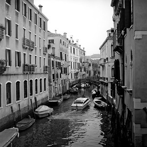 A View of Venice 4 :Italy beyond 70mm. Photographs taken on 80mm (Medium format film)