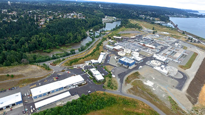 Chambers Creek Waste Water Treatment Plant, Dupont, WA